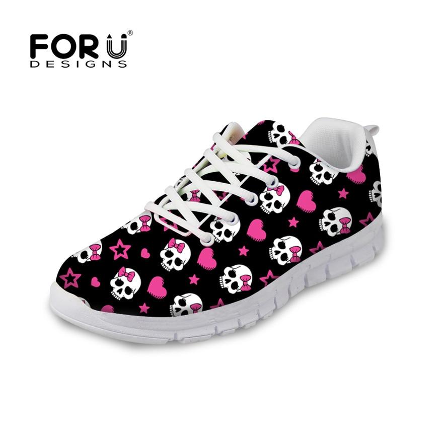 Popular Skull Shoes for Women-Buy Cheap Skull Shoes for Women lots ...