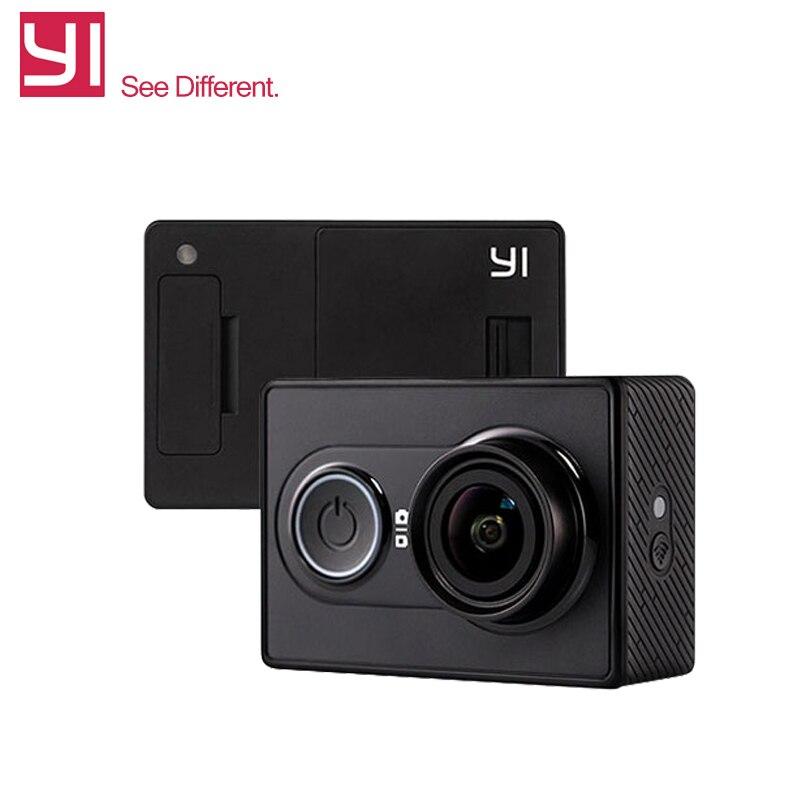 Original International Version XiaoYi 16MP Action font b Camera b font 1080P Ambarella A7 Bluetooth Xiaomi