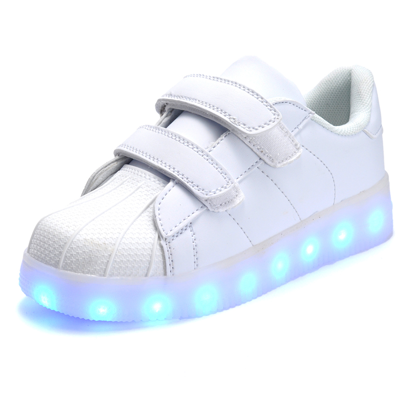 954eb0ff069c7 ... shoes with Led Light Up trainers Kid Boy Girl Luminous SneakersUSD  18.99-22.95 pair. aeProduct.getSubject()