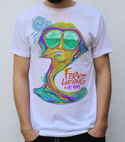 Fear and Loathing in Las Vegas T Shirt Psychedelic Design Male Hip Hop funny Tee Shirts cheap wholesale custom printed tshirt