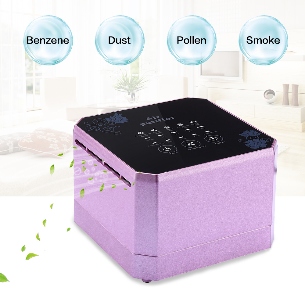 Fimei Multifunctional Mini Air Purifier Cleaner Desktop Active Anion Sterilization Removing Formaldehyde Air Purifier For Home free shipping mini high anion hepa air purifier filter air cleaner usb purifier convenientfrom ohmeka
