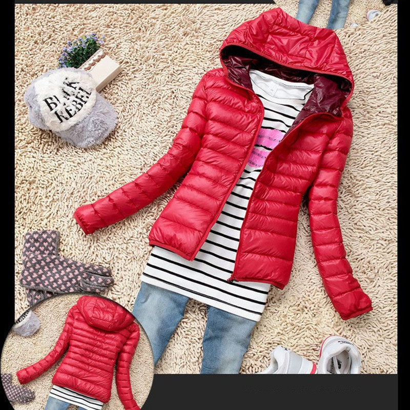 Памучно яке с дамско яке с качулка 2016 г. Нова мода Autummer зима сгъстени ежедневни дамско палто тънко подплатено облекло Chaquetas Mujer A5231