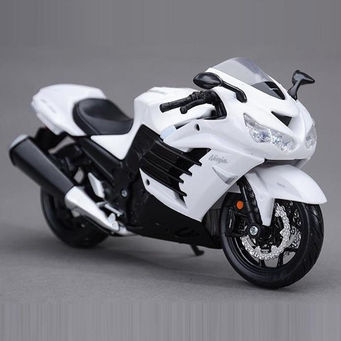 Freeshipping Maisto Kawasaki Ninja Zx 14r 112 Motorcycles Diecast