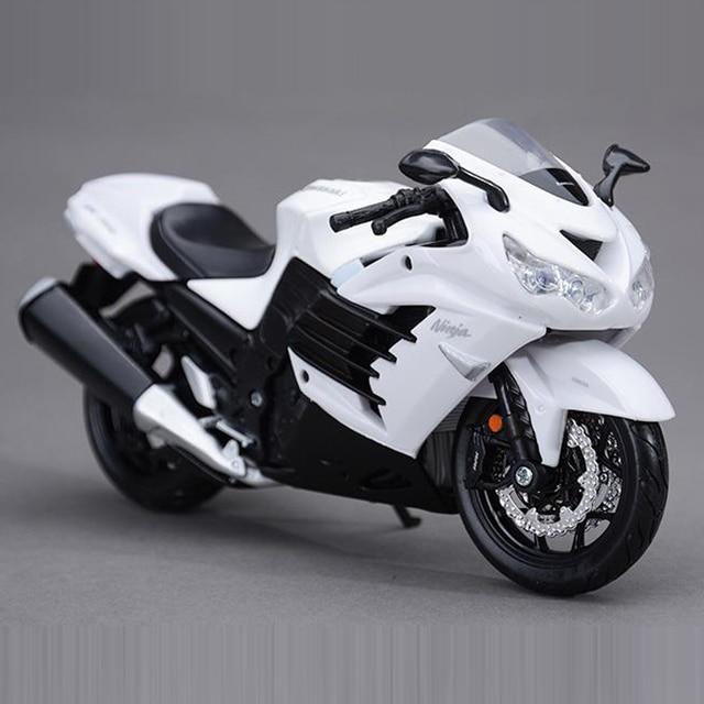 Freeshipping Maisto Kawasaki Ninja Zx 14r 1 12 Motorcycles Diecast