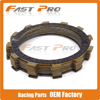 Motorcycle 8 Pcs Clutch Plate Disc Set Friction For YAMAHA XT500 SRX600 TT600 XT600 XT600E YFM660F
