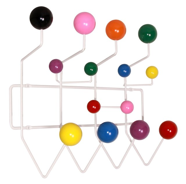 Multi Color Eeammes Hang It All Rack Coat Hook Hangers Ball Hanger
