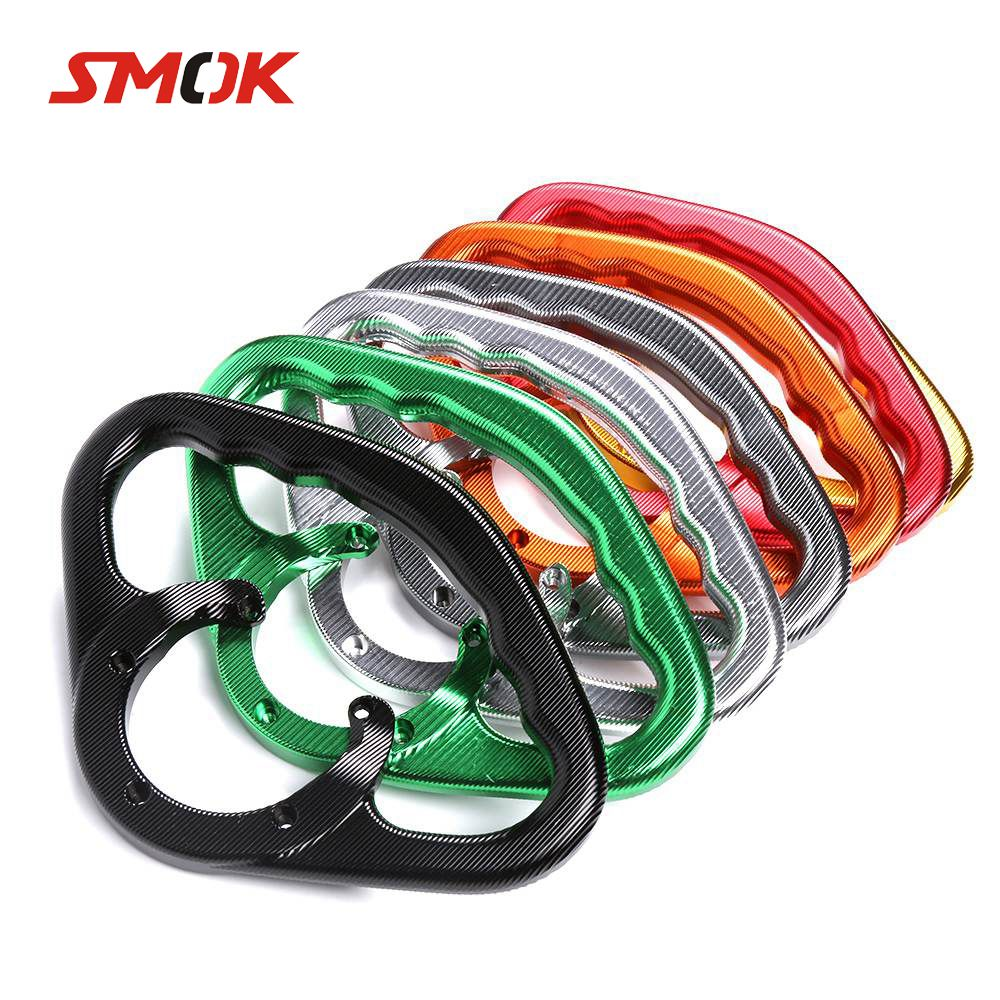 SMOK For Yamaha YZF R1 2004 2009 2015 R6 2000 2001 2002 Motorcycle Passenger Handgrips Hand Grip Tank Grab Bar Handles Armrest new abs plastic speedometer gauges tachometer instrument cover case for yamaha yzf r1 2002 2003 r6 2003 2004 2005