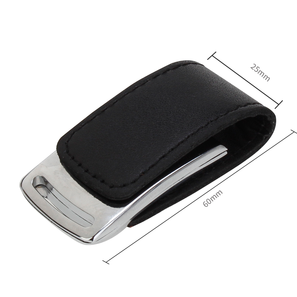 Leather usb flash drive 32gb 16gb metal keychain pen drive 128gb 64gb 8g 4g pendrive portable flash Memory stick free print LOGO (1)