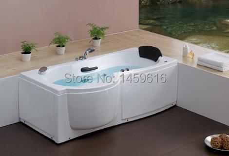 67\' Fiberglass Left Or Right Head Rest Whirlpool Bathtub Acrylic ...