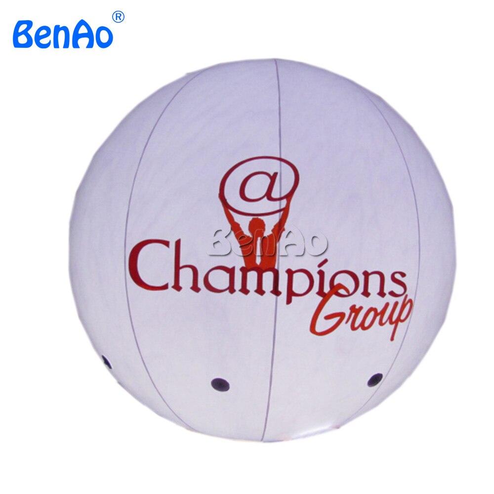 AO049 BENAO надувной освещенный рекламный шар гелий, освещенный рекламный шар гелий открытый логотип бесплатно