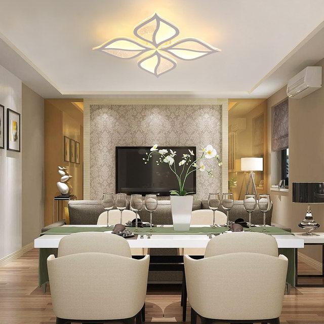 Aufbau Moderne Led Deckenleuchte Kristall Kronleuchter Für Lobby Wohnzimmer  Schlafzimmer Blume Form Avize Cristals Große Kronleuchter