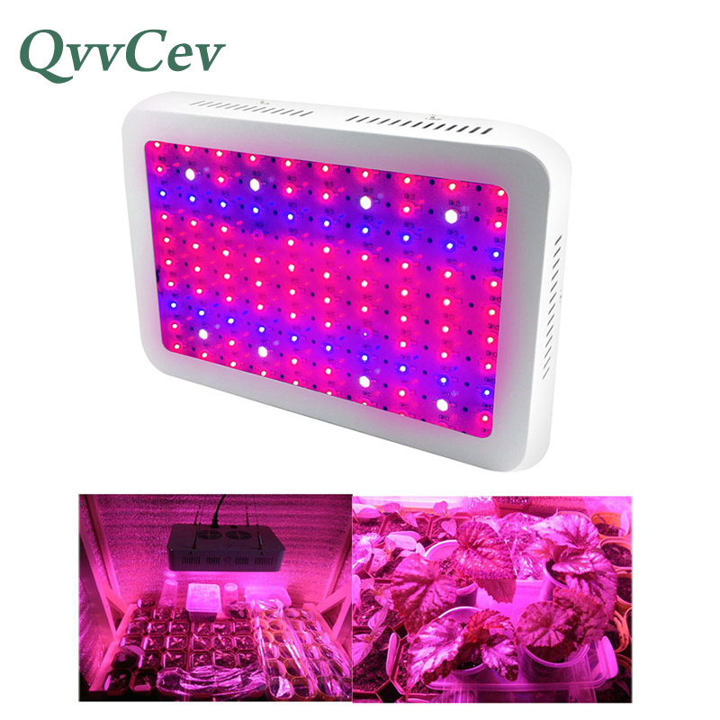 100LED светильник для выращивания, панель, зеленый дом, гидропоника, семена овощей, сад, полный спектр, лампа для выращивания, гидро красный, син
