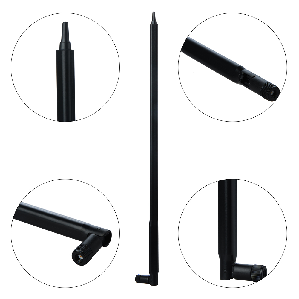 2.4Ghz 16dBi Omni-Directional Wireless WIFI Antenna Booster For Linksys Router Receiver IP Camera x 2 RP-SMA Male Connector