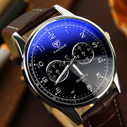 YAZOLE Hodinky 2017 Mens Watches Top Brand Luxury Famous Quartz Watch Men Clock Male Wrist Watch