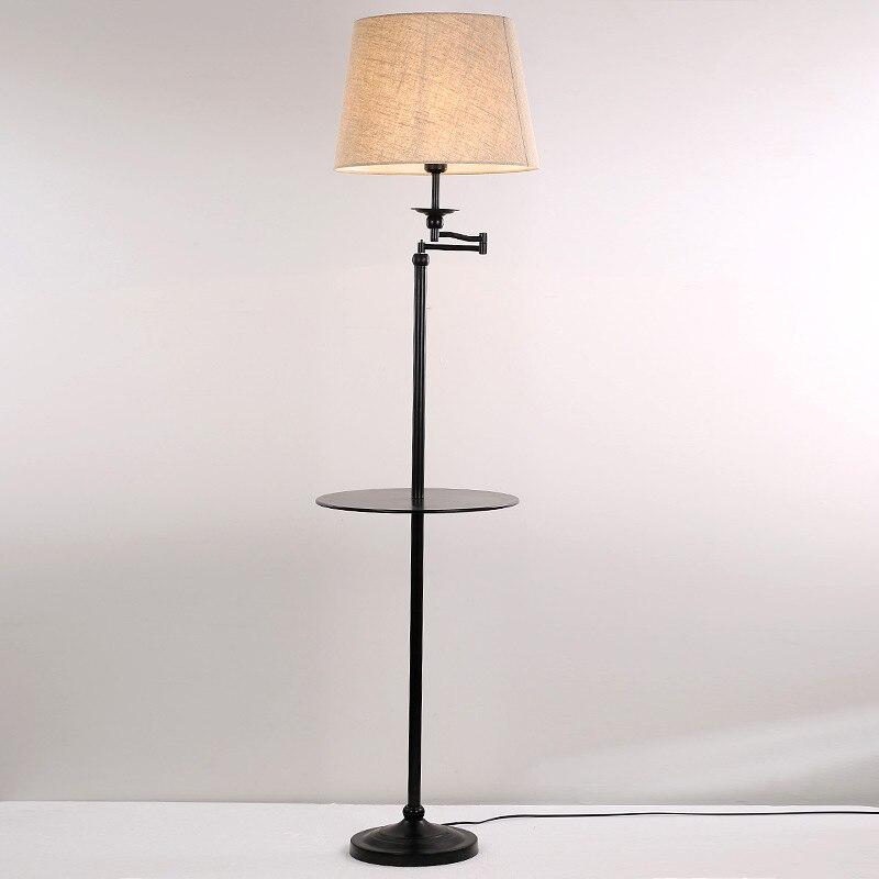 Bedroom Lamps Black: Modern Floor Lamps Living Room Bedroom Study Standing