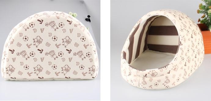 Pet Bed House Nest For Dog and Cat - Washable 9
