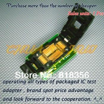 BM1114A Programmer Adapter PM-RTC005-312B IC51-0644-675 TQFP64 QFP64 Adapter/IC SOCKET/IC Test Socket 100% new ic51 0162 sop16 ic test socket programmer adapter burn in socket ic51 0162 271