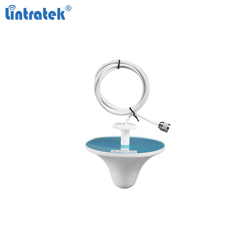Lintratek Omnidirectional Indoor Antenna 360° GSM 2G 3G 4G Aerial For 900 1800 2100 2600 Signal Repeater 850 1900 1700 Antenna
