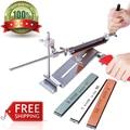 Ruixin pro iii hierro afilador profesional sistema afilador cocina chef de acero herramientas fix-ángulo con 4 piedras de afilar