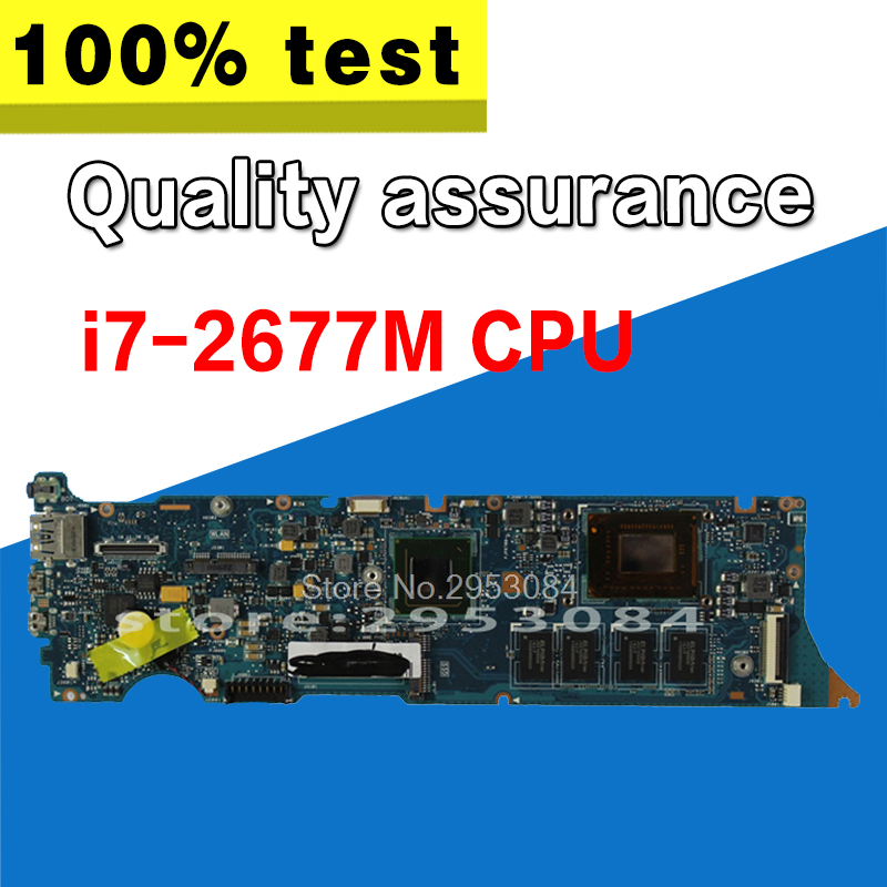 UX31E Motherboard i7-2677M CPU 4G For ASUS UX31E Laptop motherboard UX31E Mainboard UX31E Motherboard test 100% OK цена 2017