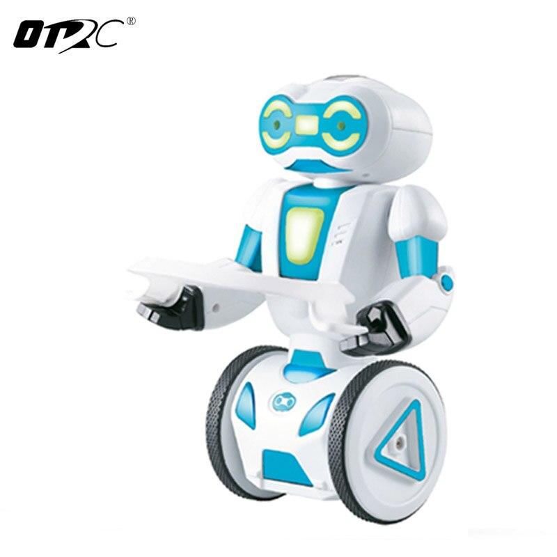 RC Robots Walking OTRC Intelligent Humanoid Robotic Remote Control Robot, Smart Self Balancing Robot, 5 Operating Modes self balancing two wheeled robot