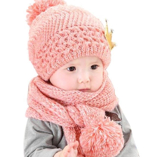 fe7fafcce607c Gorros de invierno para bebés