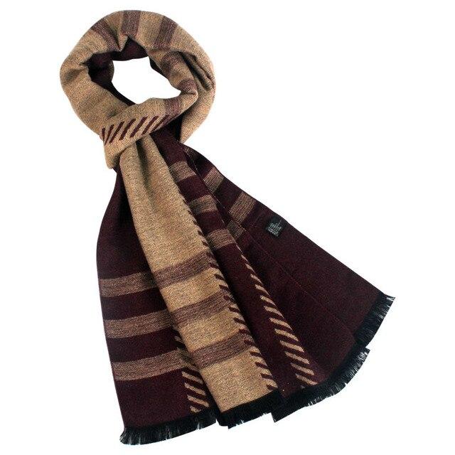 Cachecol классический дизайн зимний шарф длинный Теплый Кашемир Шарф Мужчины Шарфы Подарки Для Мужчин Бизнес Случайный Мужчины Платок платки мужчины