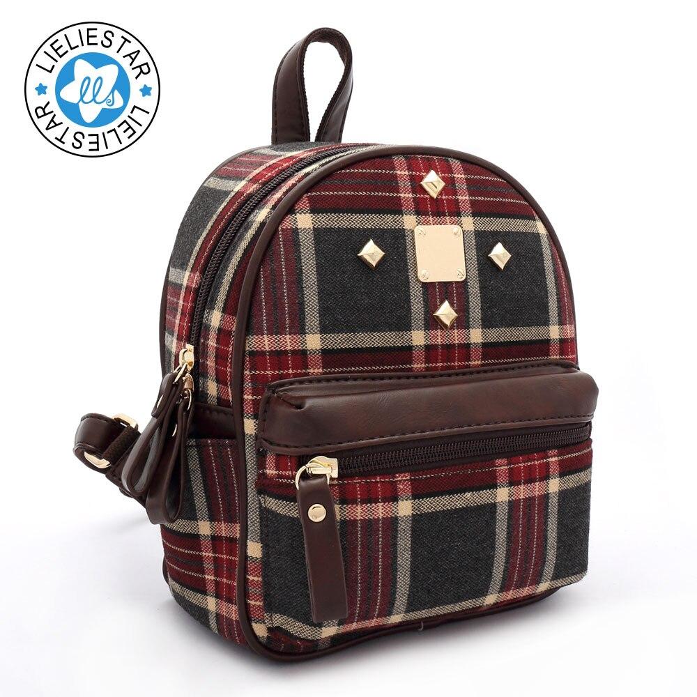 여자 2017 새 여자를위한 학교 가방 작은 배낭 schoolbag - 백팩