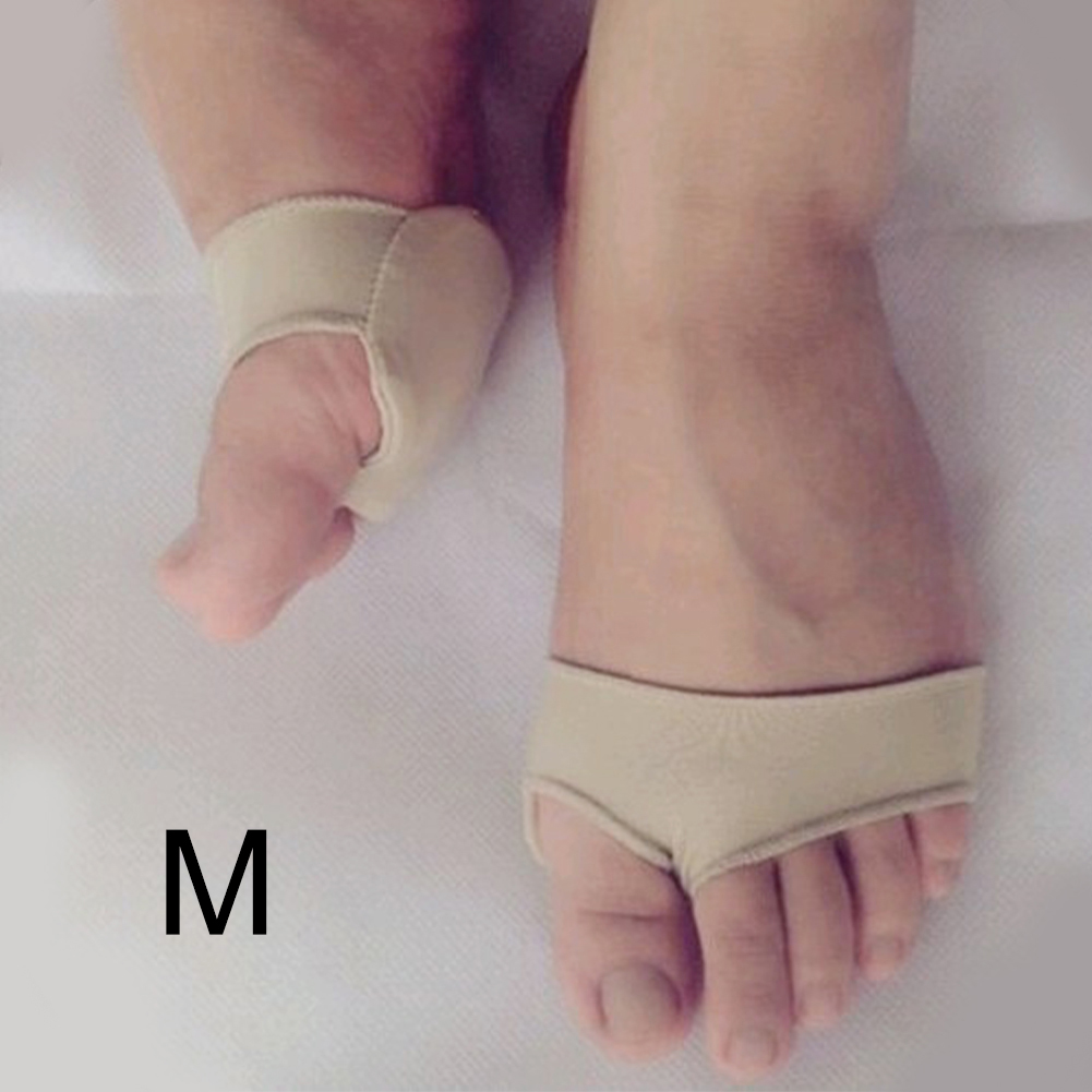 Orthopedic Rubber Forefoot Pad Thumb Separator Protection Cushion 2 Holes Valgus Socks Anti Slip Thicken High Heels Pain Relief