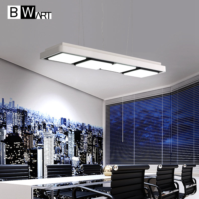 BWART modern LED Pendant Lighting for Kitchen Suspension Remote control dimmable Lamp Hanging Lamps Dinning Room Lights vemma acrylic minimalist modern led ceiling lamps kitchen bathroom bedroom balcony corridor lamp lighting study
