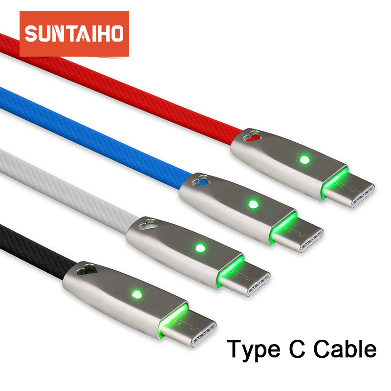 Suntaiho USB Type C Cable for Samsung Galaxy S8 S9 Plus Note 9 Type C Fast Charging Data Cable for Redmi Note 5 for Oneplus 6