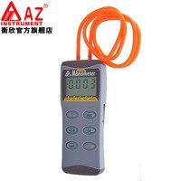 AZ8252 Digital Manometer High precision Pressure Gauge AZ Differential Pressure Meter Vacuum Gauge Tester Range 2psi