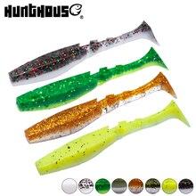Hunthouse 5pcs/bag fishing soft baits shad fishing lures T t