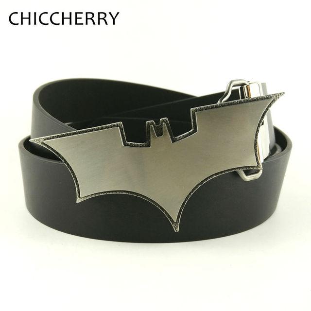 Silver cool super hero batman hebilla del cinturón cinto masculino boucle  Fivela De Ceinture Casual Vaquero a480721965ea