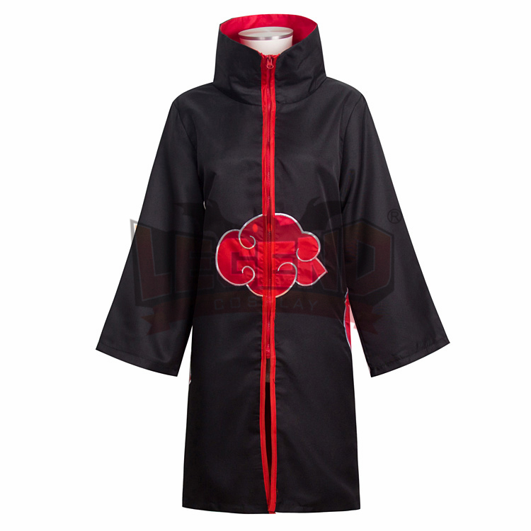 Cosplay legend Naruto cape Uchiha Itachi Akatsuki Hokage only cape Cloak cosplay adult costume