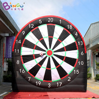 inflatable soccer board with balls funny inflatable football game for kids outdoor toys