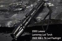 Lanternas Led CREE 10W XM L T6 Mini Flashlight Linternas 2000 Lumens Zoom In Out Lights