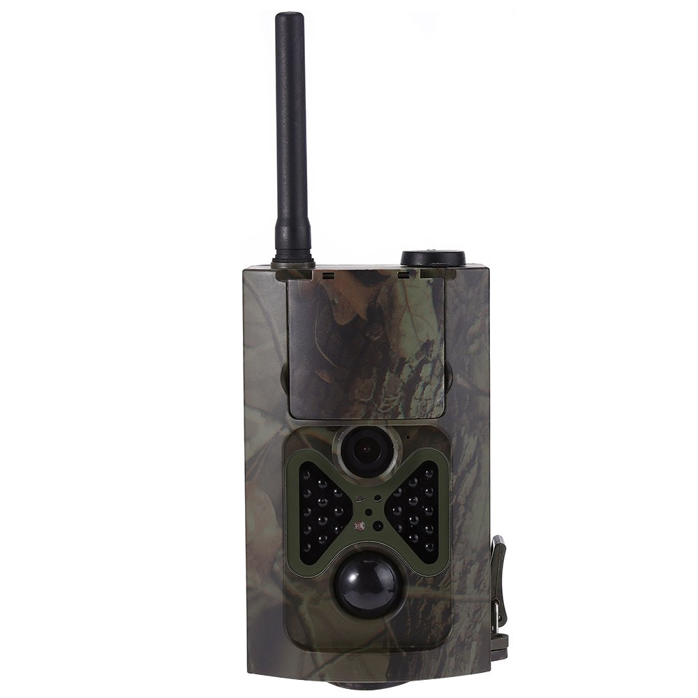 HC 500G Hunting font b Camera b font EU US Plug Four languages Infrared Digital Green