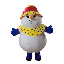 Christmas snowman inflatable cosutme for adult  High quality mascot cosplay недорого