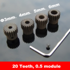 Steel Metal 20 Teeth...