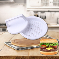 Cooking Tool Round Meat Pie Mould Burger Hamburger Grill BBQ Patty Maker Mold