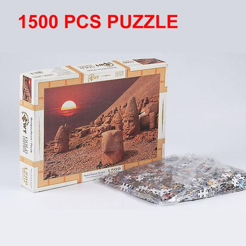 PIP JEUX Puzzle Puzzle 1500 pièces Paysage Papier Puzzles Jouets pour Adultes Enfants Anti-Stress Cadeau Art Home Décoration PGM031