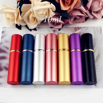 10ML Top Quality Metal Perfume Bottle Travel Refillable Mini Perfume Atomizer Glass Spray Bottle Vials 100pcs/lot - DISCOUNT ITEM  5% OFF Beauty & Health