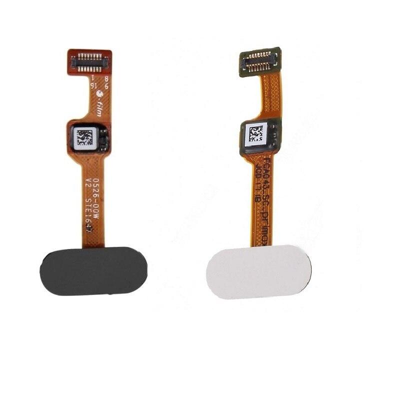 Black White OEM Replacement Fingerprint Home Button Flex Cable Part For OnePlus 5