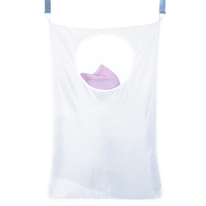 Бытовая подвесная корзина для белья через дверь, вместительная портативная прочная сумка для хранения грязной одежды из ткани Оксфорд