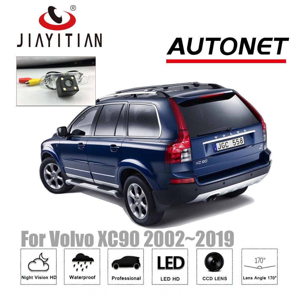 Car Rear View Backup Reverse Camera For Volvo Xc90 2002~2014 Original Screen Volume Large Anti-theft Car Alarms