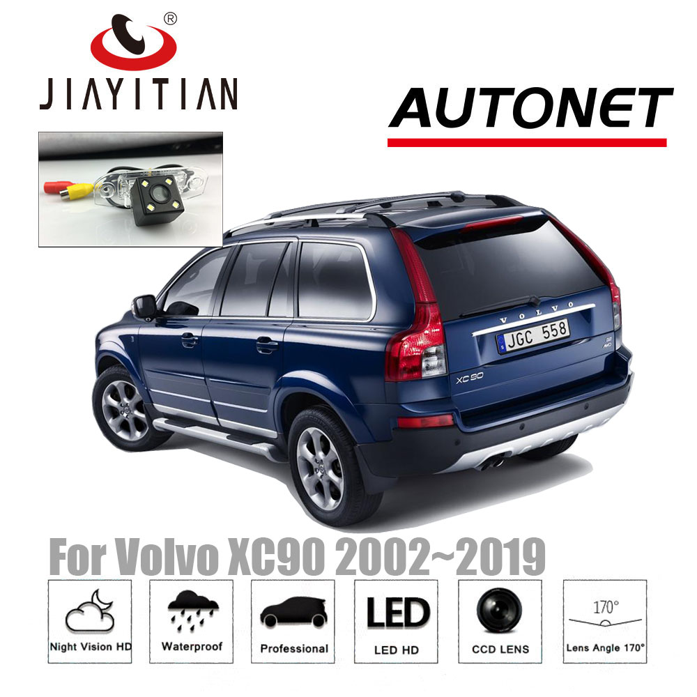 JIAYITIAN Rear View Camera For Volvo XC90 2/4WD 2002~2019 CCD Night Vision Reverse Camera license plate camera backup camera jiayitian rear camera for chevrolet orlando 2010 2017 ccd night vision backup camera reverse camera parking license plate camera
