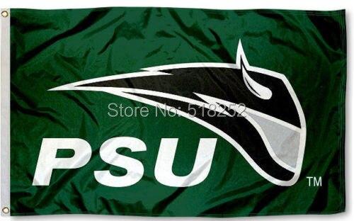 Portland State Vikings PSU Logo Flag 3x5 FT 150X90CM NCAA Banner 100D Polyester Custom flag grommets 6038,free shipping ...