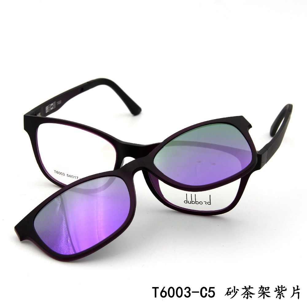 e0b6db09c1 ... Ultem Ultra Light Myopia Eyeglasses Frame Polarized Magnetic Clip  Glasses Driving Clip on Magnet Sports Spectacles ...