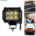 4 Polegada 30 W CONDUZIU o Trabalho Barra de Luz Offroad Condução Luz de Nevoeiro Lâmpada de Inundação Para SUV 4WD ATV 4X4 Barco ATV